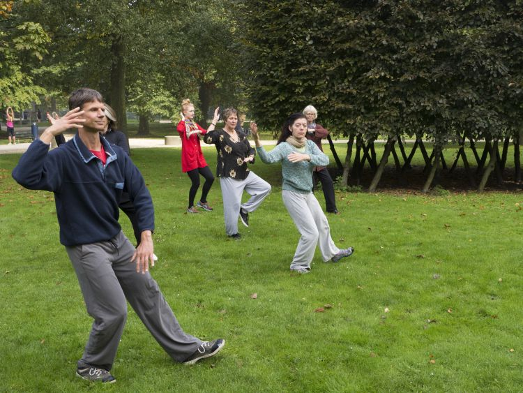 Tai chi les in Amsterdam West